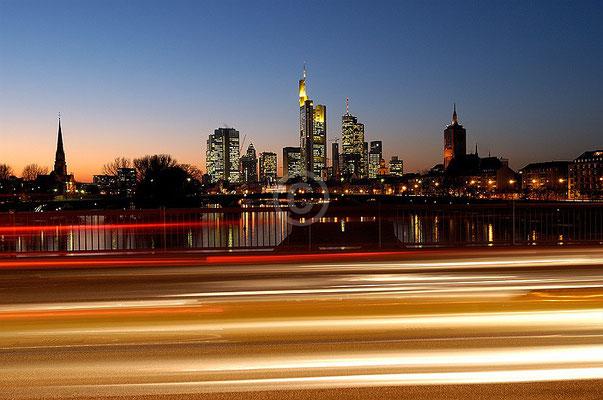Skyline Frankfurt im Querformat 5