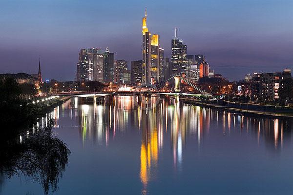 Skyline Frankfurt im Querformat 49