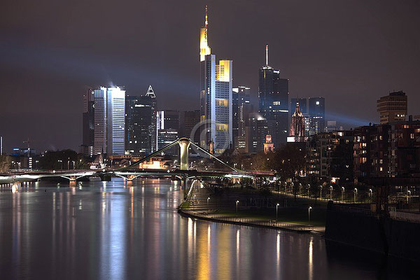 Skyline Frankfurt im Querformat 43