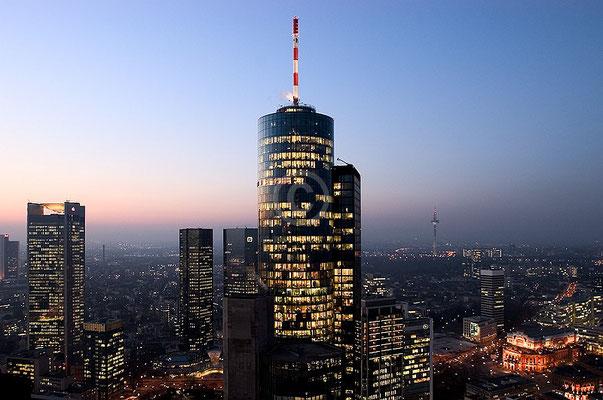 Skyline Frankfurt im Querformat 51