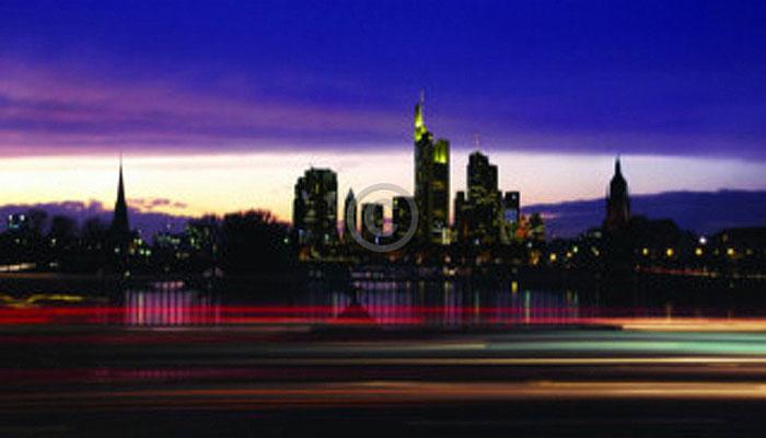 Skyline Frankfurt im Querformat 4