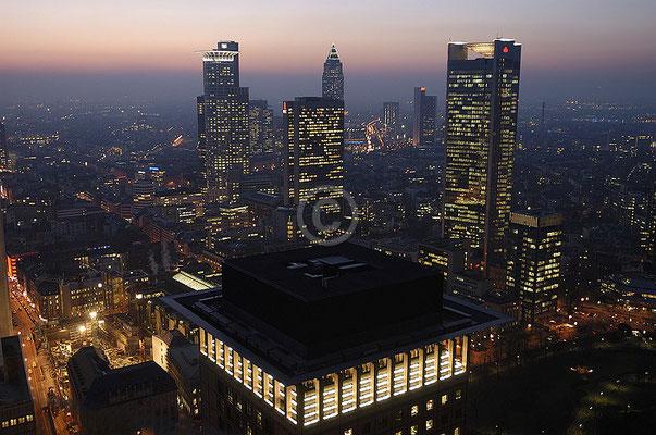 Skyline Frankfurt im Querformat 26