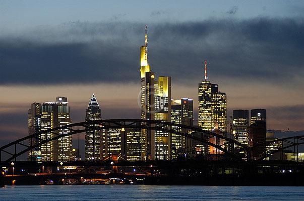 Skyline Frankfurt im Querformat 12