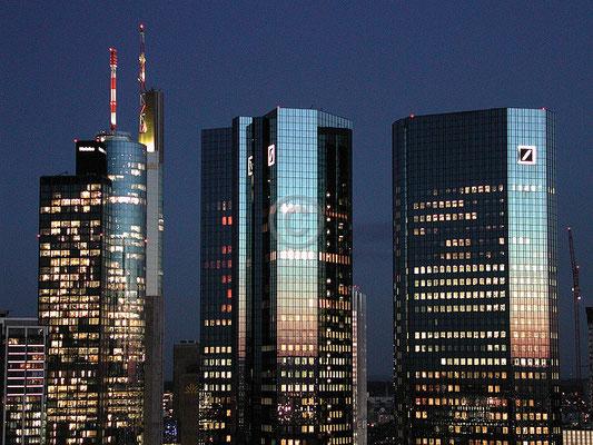 Skyline Frankfurt im Querformat 11
