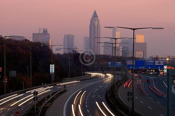 Skyline Frankfurt im Querformat 63