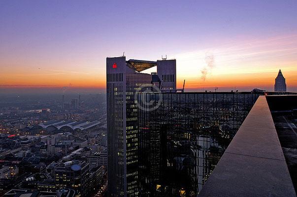 Skyline Frankfurt im Querformat 7