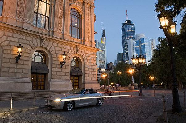 Skyline Frankfurt im Querformat 19