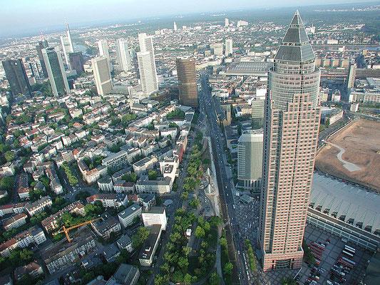 Skyline Frankfurt im Querformat 10