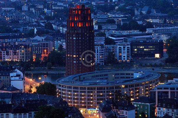 Skyline Frankfurt im Querformat 23