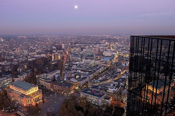 Skyline Frankfurt im Querformat 8