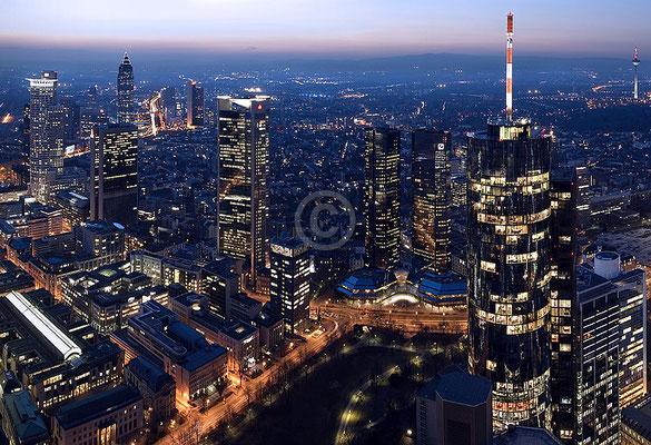Skyline Frankfurt im Querformat 52