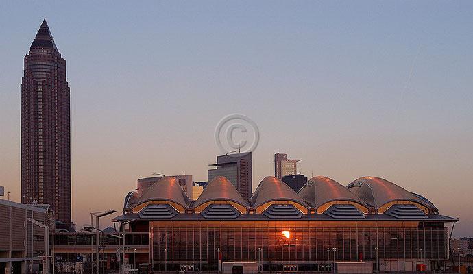 Skyline Frankfurt im Querformat 39