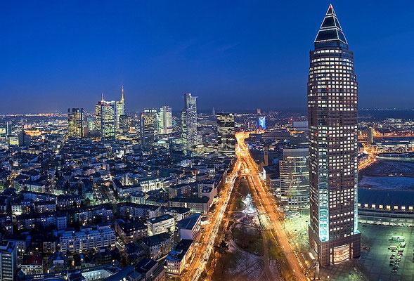 Skyline Frankfurt im Querformat 65