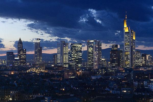 Skyline Frankfurt im Querformat 66