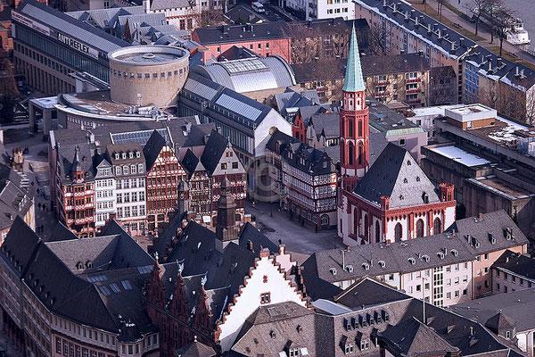 Skyline Frankfurt im Querformat 38