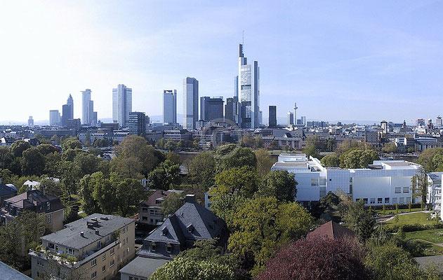 Skyline Frankfurt im Querformat 40