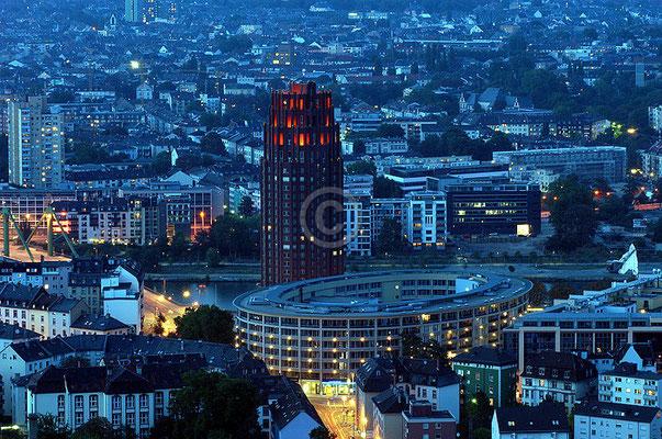 Skyline Frankfurt im Querformat 22