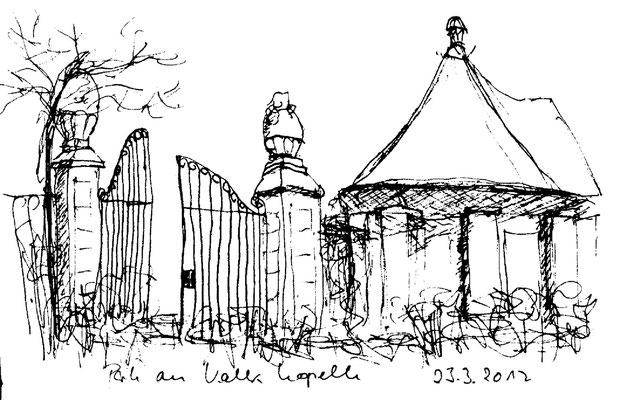 Eingang zum Park, Köln-Kalk