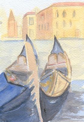 Gondeln, Venedig 1