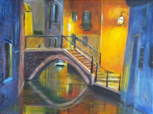 Nachtspaziergang durch Venedig 1