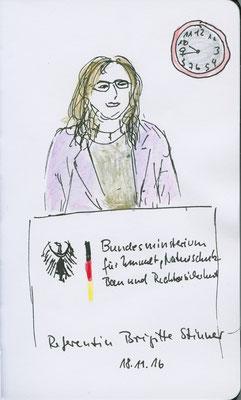 Berlin-Fahrt, Ministerium für Umwelt, 2016