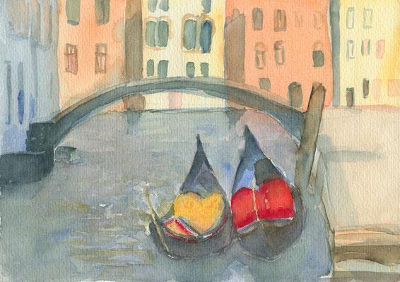 Gondeln, Venedig 2
