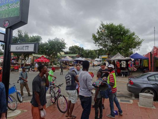 Impressionen vom township