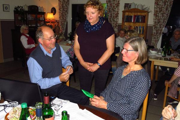 A.Jaeger bedankt sich bei Reimer+Ulrike Esselborn