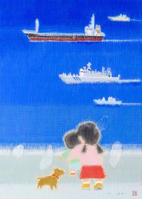 「競走ノヨウニ」4F 日本画