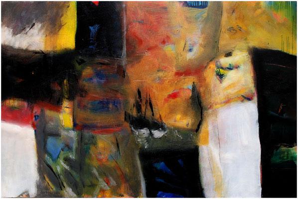"""""""Don't stop the music"""" Öl auf Leinwand 140 x 100 cm € 1.000,-"""