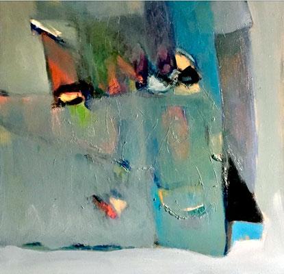 """""""Sailing"""" - Öl auf Leinwand  60 x 60  € 700,-"""