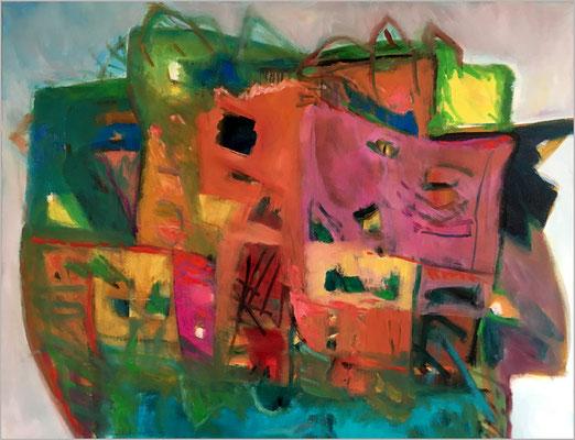 """""""The Magic of Home""""    -  Öl auf Leinwand 80 x 100 cm € 600,-"""