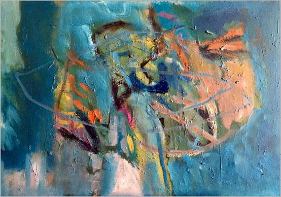 """""""Nostalgia I""""    -  Öl auf Leinwand 45 x 65 cm € 500,-"""