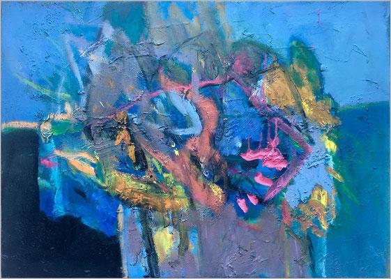 """Nostalgia II""    -  Öl auf Leinwand 50 x 70 cm € 500,-"