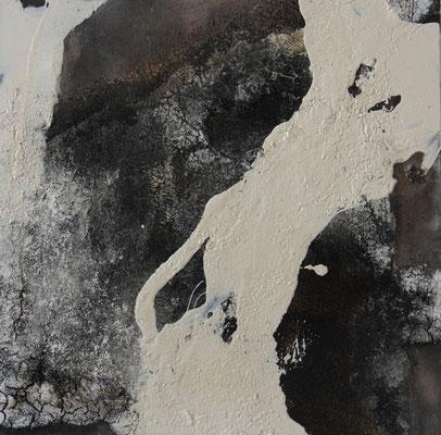 2016  |  60 x 60  |  Acryl, Marmormehl, Sand, Champagnerkreide