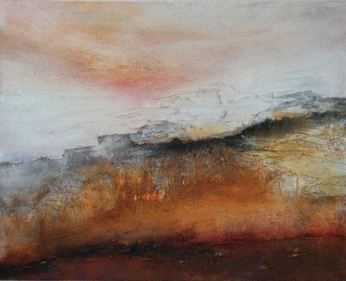 2015  |  80 x 100  | Airbrush, Marmormehl, Asche, Sand
