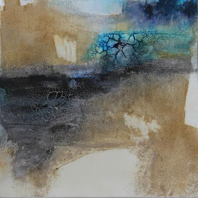 2016  |  60 x 60  |  Acryl, Marmormehl, Sand, Airbrush