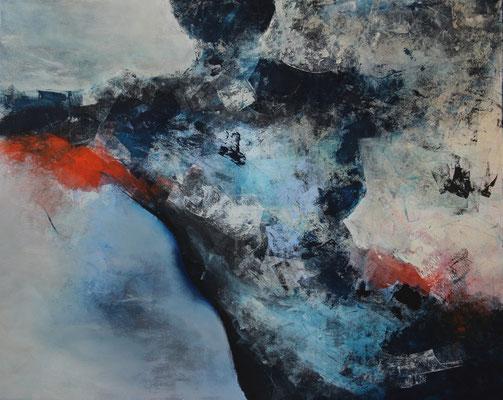 """ungeniert""  |  2016  |  80 x 100  |  Acryl"