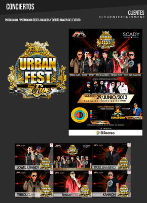 CONCIERTOS URBAN FEST 5