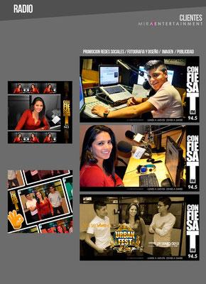 MANEJO DE IMAGEN  PROMOCION RADIO CONFIESAT 94.5 FM