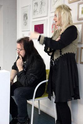 Dreh Musikvideo Menschenfresser, 2011