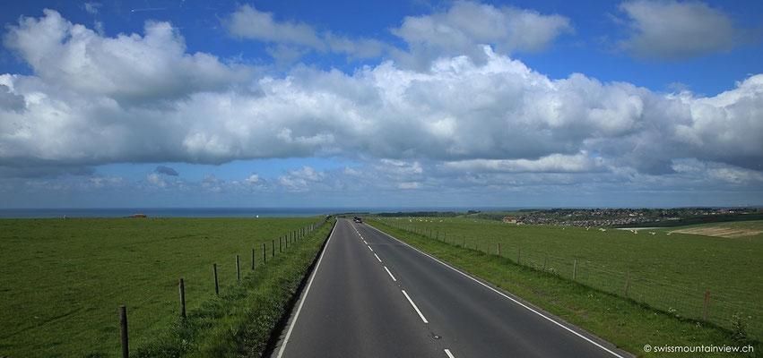 Busfahrt von Eastbourne nach Brighton ©swissmountainview.ch