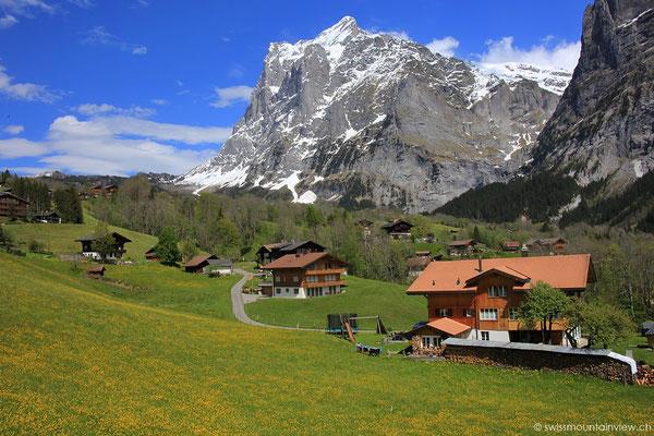 Auf dem Rückweg mache ich noch einen Abstecher nach Grindelwald.