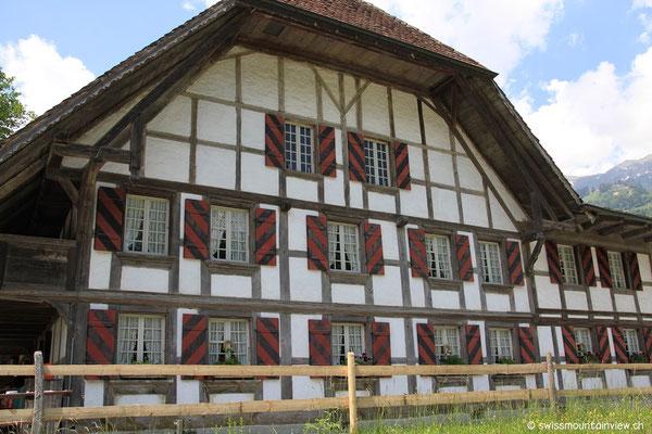 Ein typisches Berner Bauernhaus.