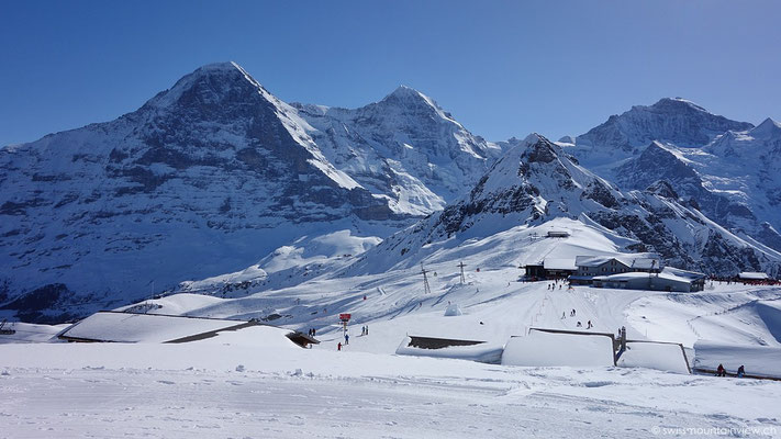 Eiger, Mönch und Jungfrau - das Wahrzeichen des Berner Oberlandes.