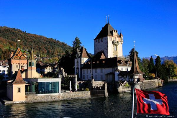 Schloss Oberhofen und das Restaurant mit atemberaubender Aussicht