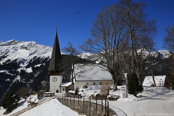 Die Kirche von Wengen.