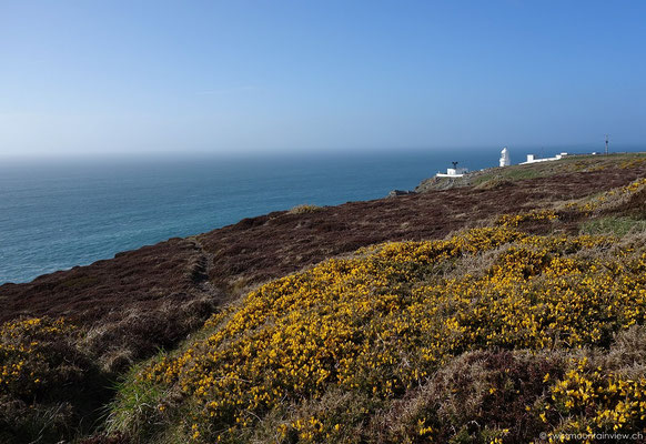 Pendeen lighthouse, Cornwall
