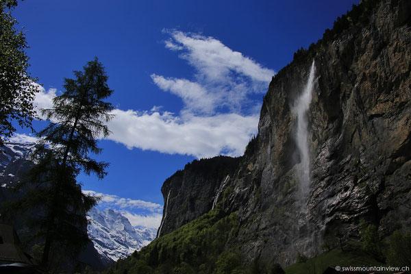 Der heutige Tagesausflug führt uns nach Lauterbrunnen.