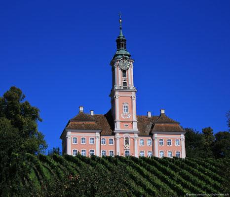 Auf dem Rückweg geht es vorbei an der Wallfahrtskirche Birnau nach Unteruhldingen.